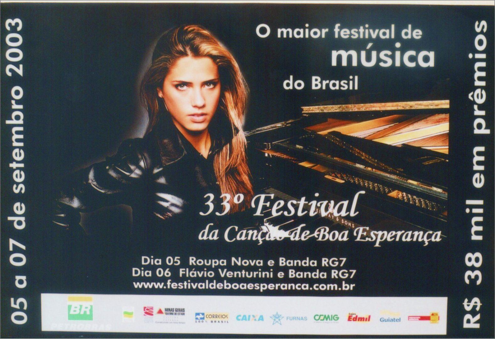 33º Festival da Canção de Boa Esperança