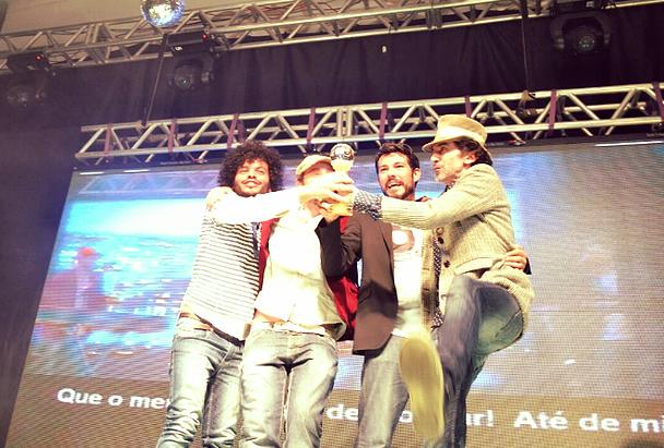 Música de Chapecó foi a grande vencedora do 44º Festival Nacional da Canção
