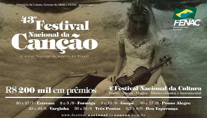 43º Festival Nacional da Canção