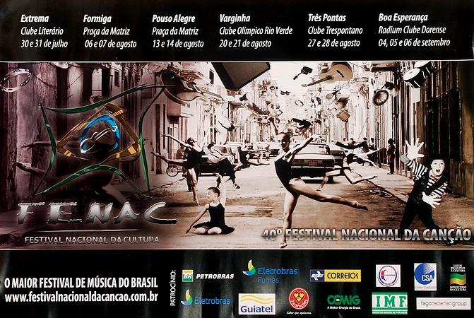 40º Festival Nacional da Canção