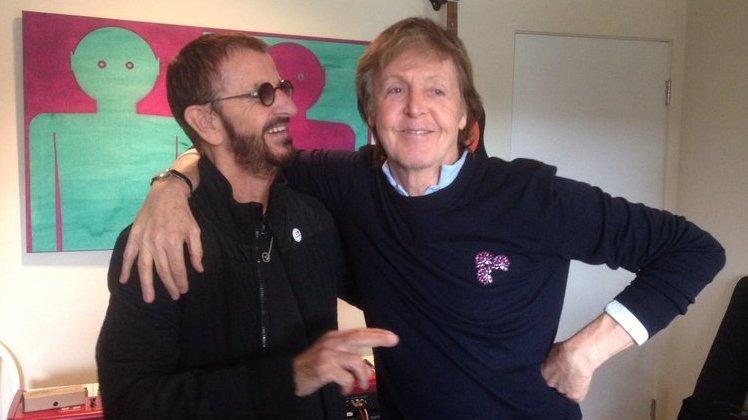 Últimos Beatles vivos, Paul e Ringo se reúnem em estúdio para gravação