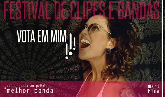 """Mari Blue concorre ao prêmio de melhor banda no """"Festival de Clipes e Bandas"""""""