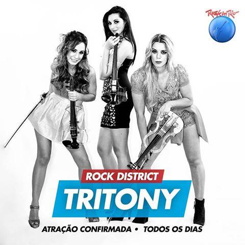 TRITONY – ATRAÇÃO CONFIRMADA!