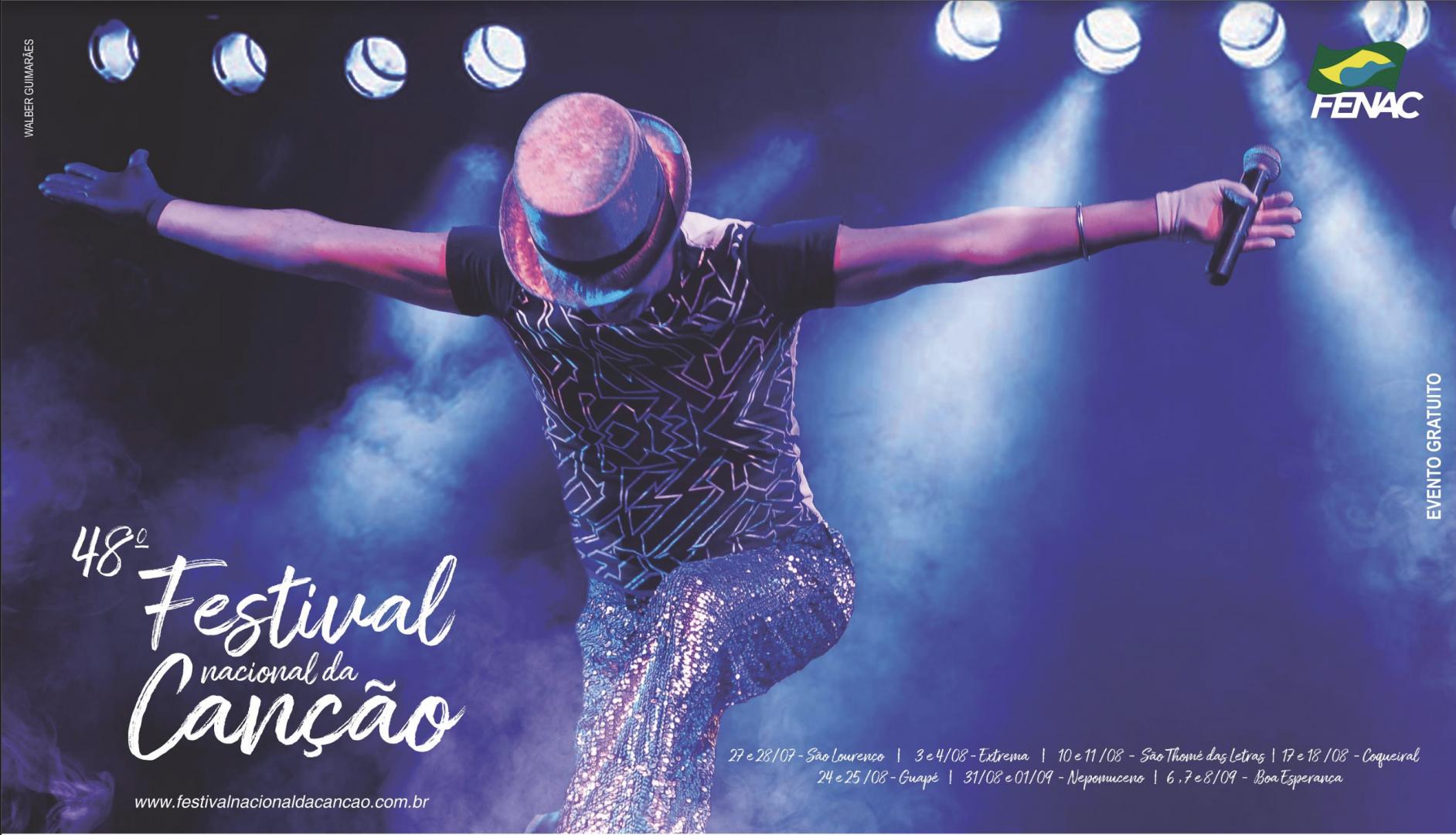 Cartaz 48º Festival Nacional da Canção